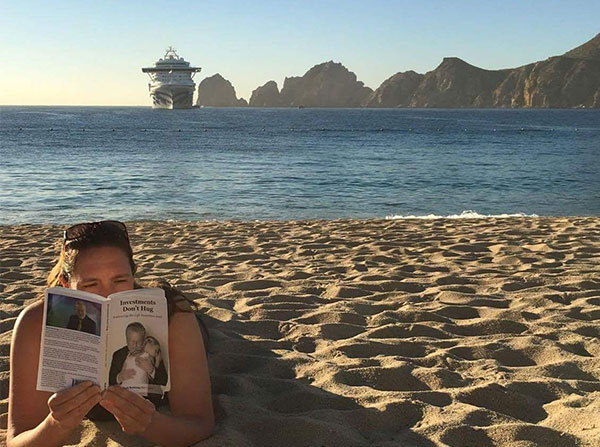 Beach Reading -  Investments Don't Hug